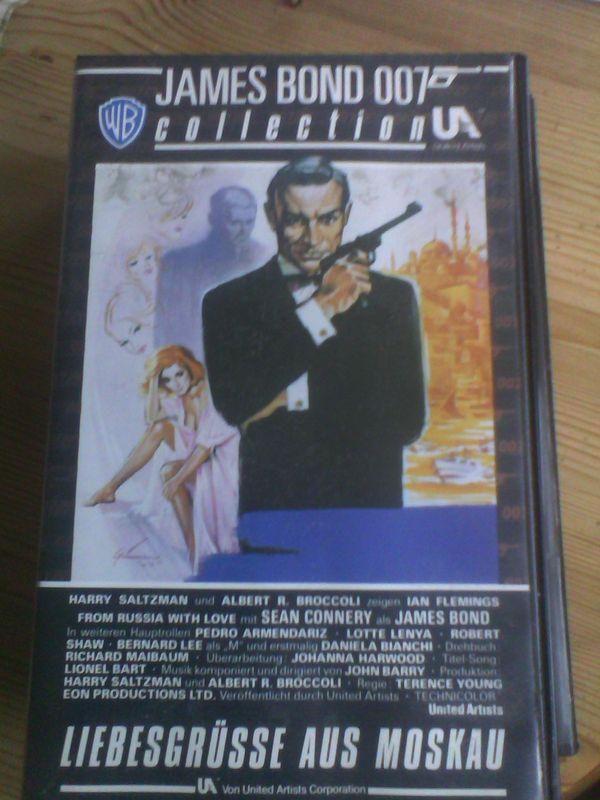 2 VHS-Kassetten James Bond