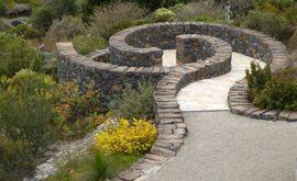 Granit und Basalt Antikpflastersteine 10x10 Basalt, Granit Grau und Rötlich-braun gemischt