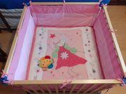 ROBA-LAUFSTALL Bett für Kleinkinder 100x100