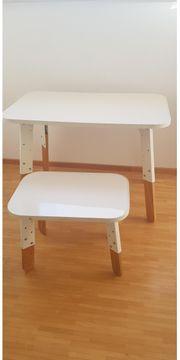 Schreibtisch für Kinder mit Sitzbank