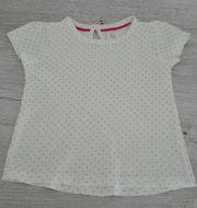 Baby - Kurzarmshirt mit Glanz Effekt