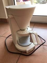 Weiße Melitta Filter Kaffeemaschine gebraucht