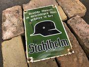 Emaille Blech Schild 30cm x