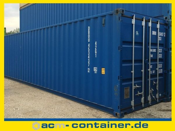 40 fuß Seecontainer NEU Lagercontainer
