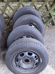 4 Reifen Continental mit Felgen