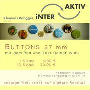 Buttons - Anstecker mit dem Bild