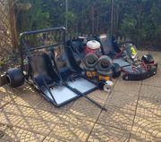 GoKart - Indoor Kart mit Anhänger