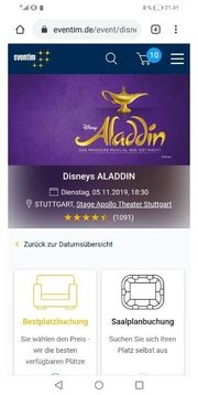 4 Tickets 100 Euro billiger
