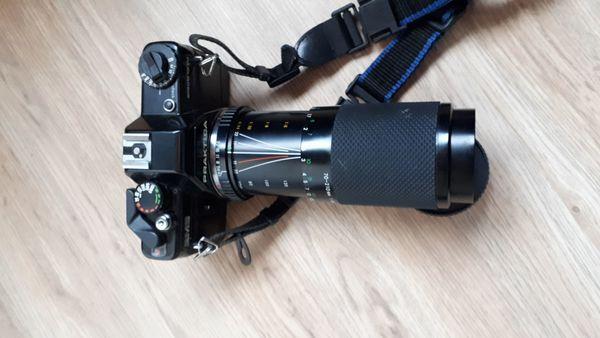 Praktica Spiegelreflexkamera zu verkaufen