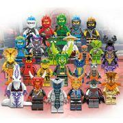 24 Minifiguren Ninjago Oni Masken