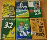 Fußball-Bücher Uwe Seeler und Helmuth