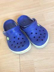 Crocs blau Größe 32 33