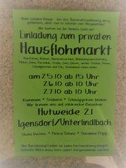 Porzellan Glas Bilder Flohmarkt in