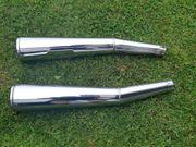 BMW R80 R100 Auspuff Endschalldämpfer