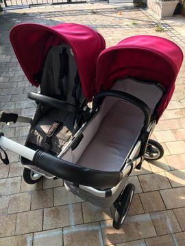 Kinderwagen - Schnäppchen - Bugaboo Donkey 2 Geschwisterwagen