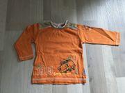 Orangener Pulli von Schnitzler Gr