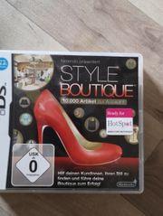 style boutique Nintendo Ds spiel