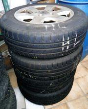 4 Mal Sommer Reifen für