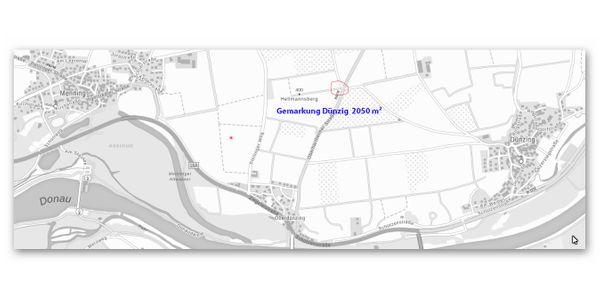 2 landwirtschaftliche Grundstücke -Gemeinde Vohburg-