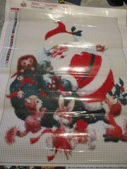 Diamond Painting D5 Weihnachtsmann Vollbild