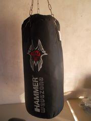 Hammer Boxsack und Boxhandschuhe 10-OZ