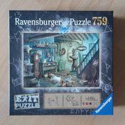 Ravensburger Exit Puzzle Gruselkeller