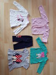 Langarmshirts Sommerkleid Strickjacke Set 5