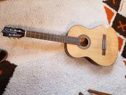 Gitarre - Wander- und Konzertgitarre mit