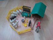 Playmobil Schäfer-Set Schafe Wagen Zaun