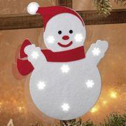 NEU LED Schneemann 40cm Weihnachtsbeleuchtung