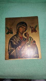 Ikone Madonna der Passion