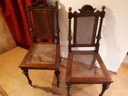Stühle Paar Antiquitäten und 1