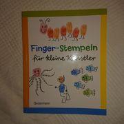 Finger-Stempeln für kleine Künstler - Buch -