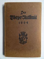 Der Triberger Stadtbrand 1826 Von