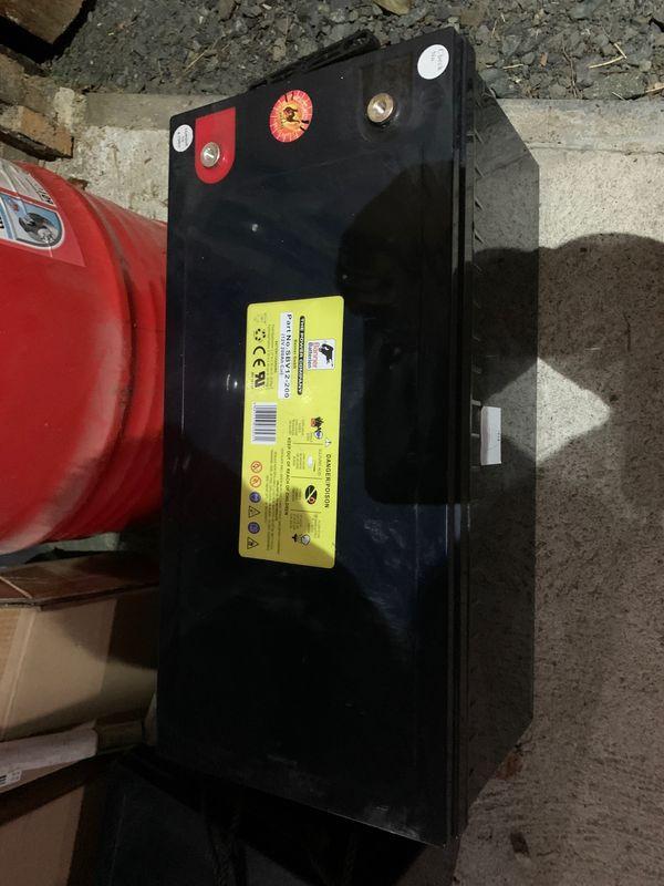 2x Batterie Banner 12v 200Ah