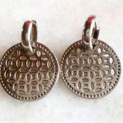 echte Silber-Ohrringe 925