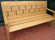 Gartenbank Holz 3 Sitzer