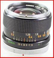 Canon FD 24mm F 2