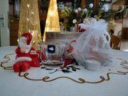 Leonardo Weihnachtsdeko Nikolaus und Teelichthalter