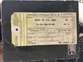 Militär Bundeswehr Sender Empfänger XK: Kleinanzeigen aus Darmstadt Waldkolonie - Rubrik CB, Amateurfunk