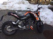 Motorrad KTM Duke 125 ccm