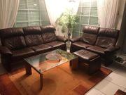 WZ- Couch Leder 3- und