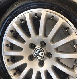 Alufelgen - VW Alufelgen 17 Zoll Sommerreifen