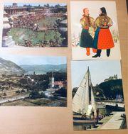 4 x Colorvox Schallbildkarte Tonpostkarte