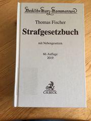 Strafrecht Kommentar Thomas Fischer 2019