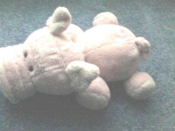 Spielzeug - Plüschtier - Plüsch - Schwein - rosa -