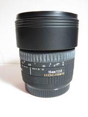 Sigma 15 mm EX DG