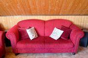 2er Sofa mit Sessel