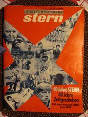 Jubiläumsausgabe 1988 40 Jahre Stern