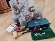 Pfeifen-Set Tabak Peterson christmas XL90